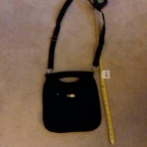 Black Vera Bradley cross body purse